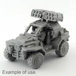 Picture of Missile Launcher (1) - Shoulder or Vehicle Mounted