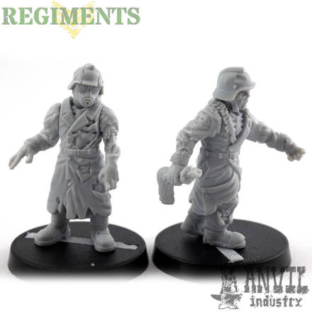 Picture of Zombies - Long Trenchcoat (5)