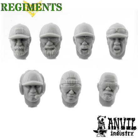 Picture of Baseball Cap Heads - Male (7)