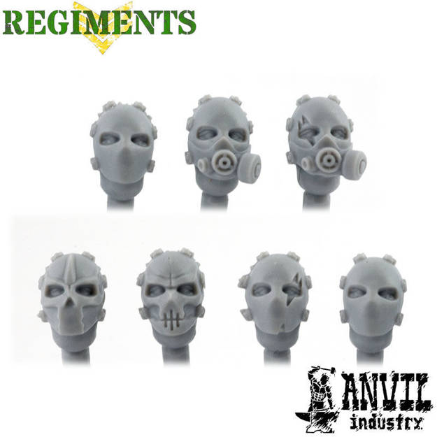 Picture of Bulletproof Masked Heads (7)