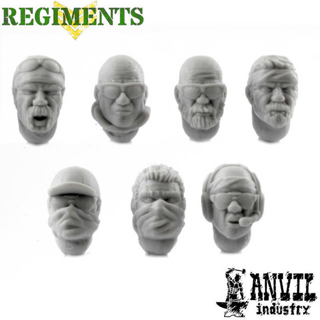 Picture of PMC Heads - Male (7)