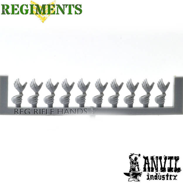 Picture of Regiments Pistol Grip Hands (10)