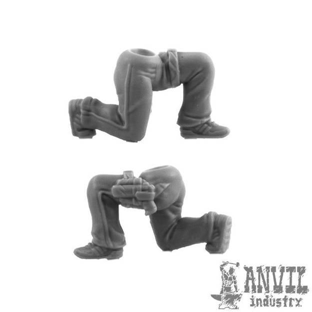Picture of Female PMC Legs - Kneeling (1)
