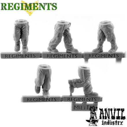 Picture of Militia Legs 2 - Advancing (5)