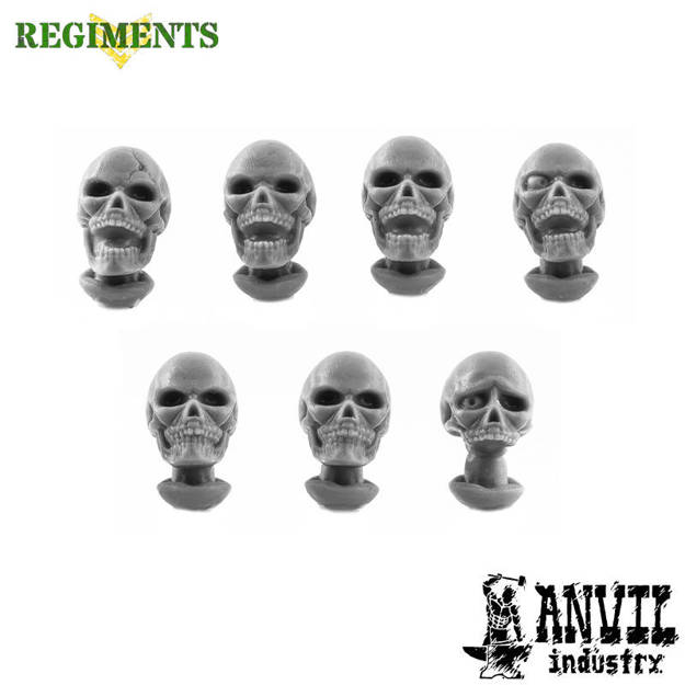 Picture of Skull Heads - Regiments Scale (7)