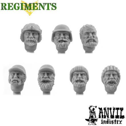 Picture of Tactical Beard Heads - Male (7)