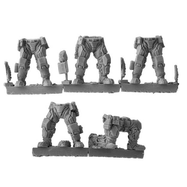 Picture of Republic Grenadier Legs 1 - Static (5 pairs)