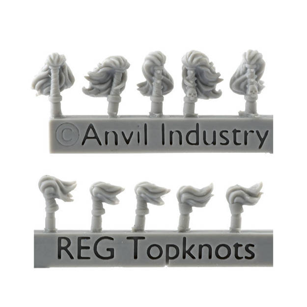 Picture of Top Knots (10) - Small/Regiments