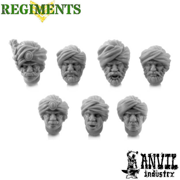 Picture of Turban Heads - Male (7)