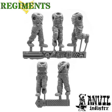 Picture of Boilersuit Renegade Bodies - Advancing Pose (5)