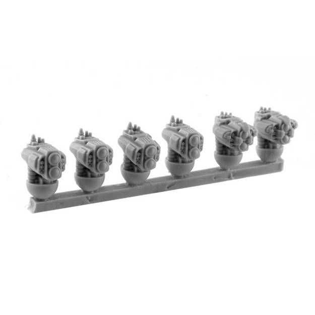Picture of Warden Mech Heads (6)