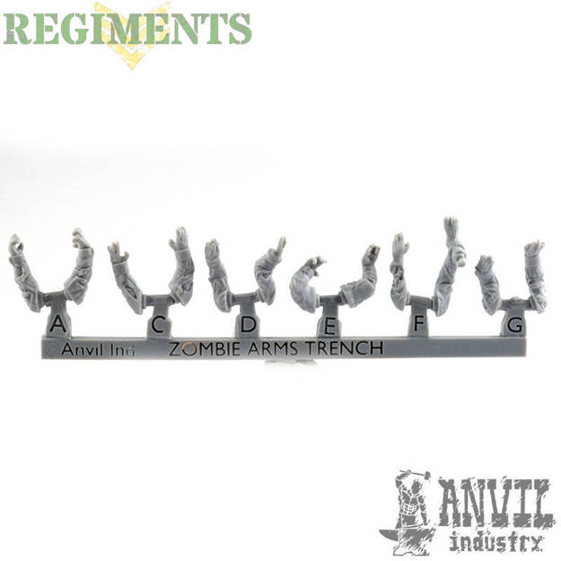 Picture of Zombie Arms - Trench/Fatigue (6)