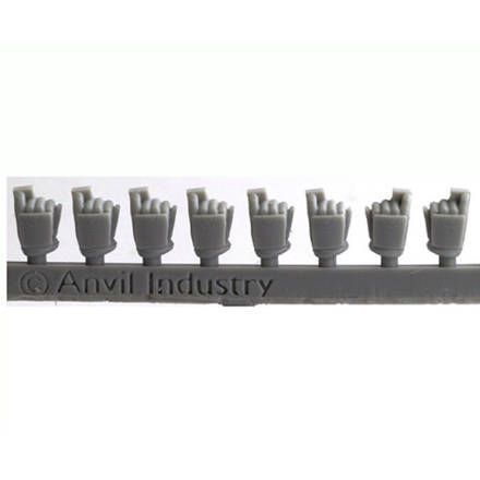 Picture of (Legacy) Exo-Lord Pistol Grip Hands (5 right, 2 left)