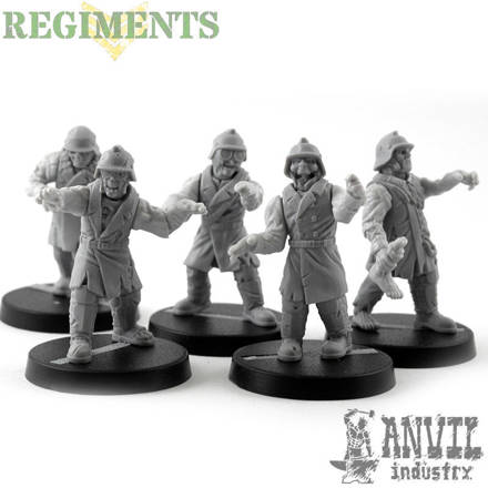 Picture of Zombies - Short Trenchcoat (5)