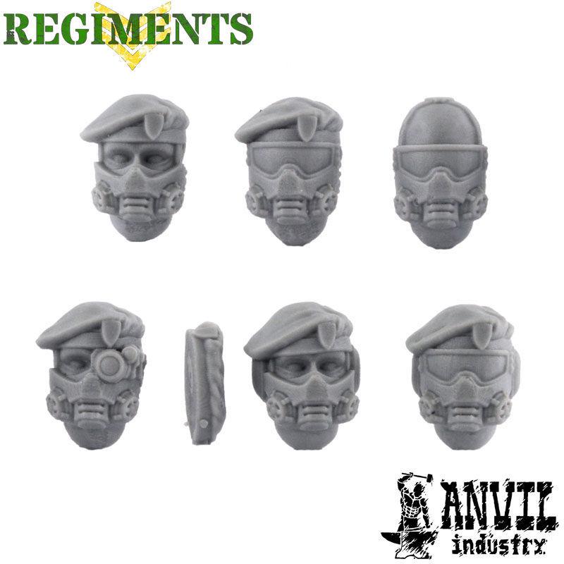 Beret/Gasmask Veteran