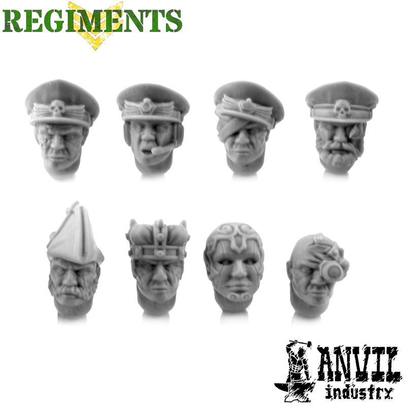 Dress Uniform Officer Heads [+€0.55]