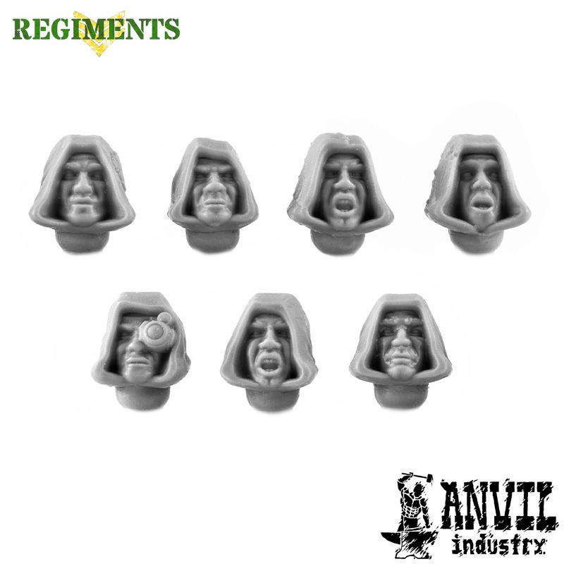 Hooded Cultist Heads