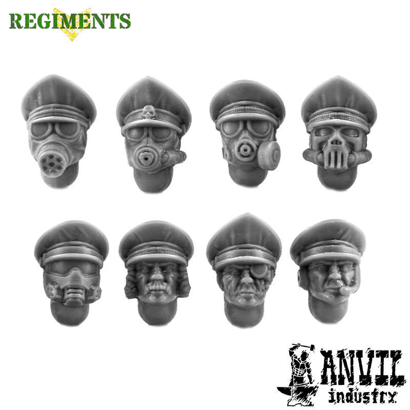 Trencher Officer Heads [+€0.60]