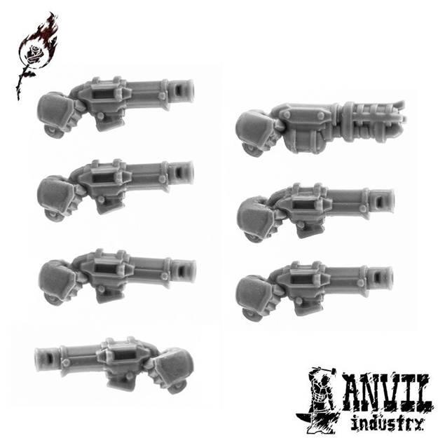 Picture of Regular Pistols - Right Handed (7 pistols)