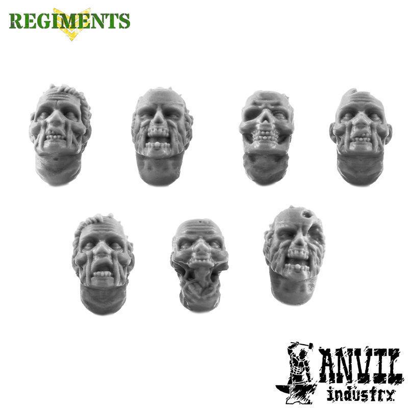 Zombie Civilian Heads