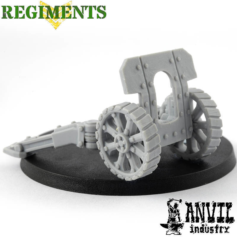 Field Gun Platform & Heavy Gunshield [+$4.45]