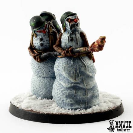 Picture of Snowman Flamethrower Team