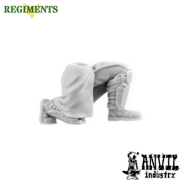 Picture of Female Short Greatcoat Legs - Kneeling (1)