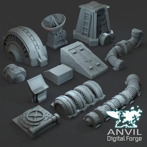 Picture of Digital - Generators, Cables & Bunker Scatter Terrain