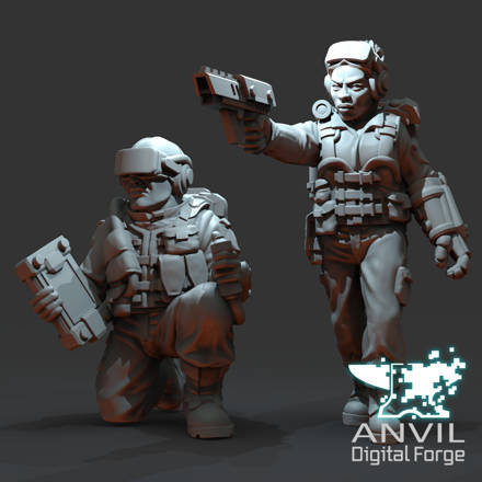 Picture of Digital - Automata Drone Commander Characters