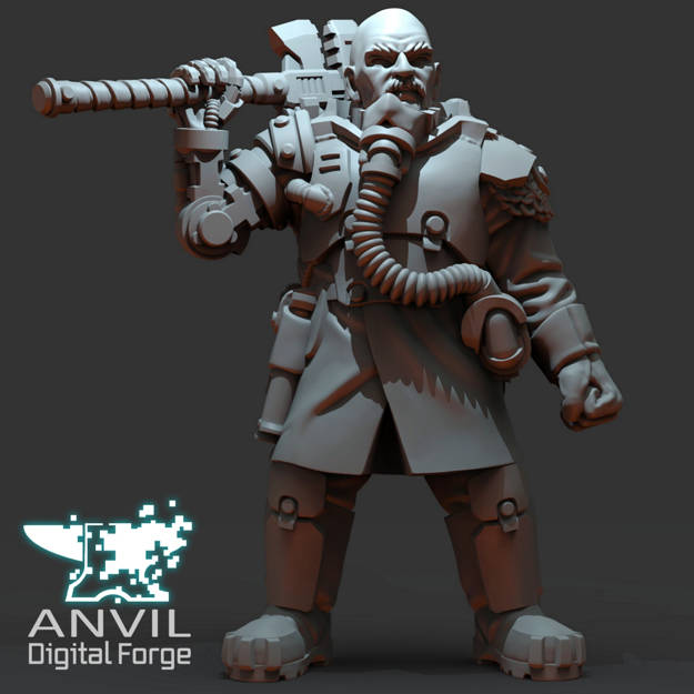Picture of Digital - Armoured Trencher Engineer