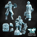 Picture of Digital - Varrus Teal & Surgeons Character Pack