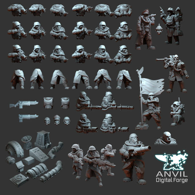 """Picture of Digital - """"Over The Top"""" Armoured Trencher (Full Bundle)"""