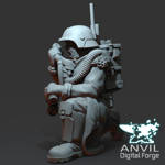 Picture of 3D Print (SLA) - Armoured Trencher Radio Spotter