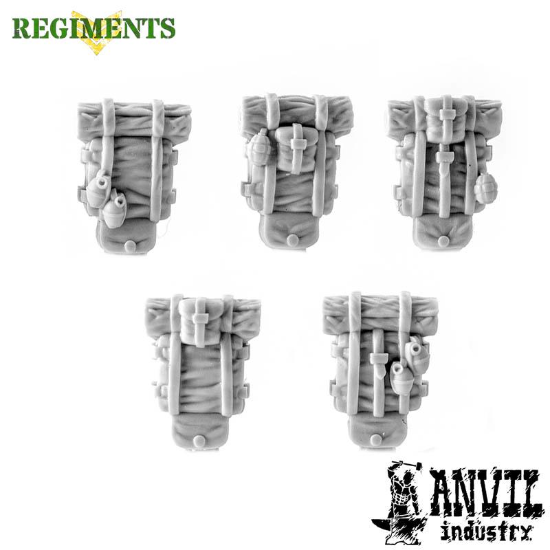 Haversacks with Grenades