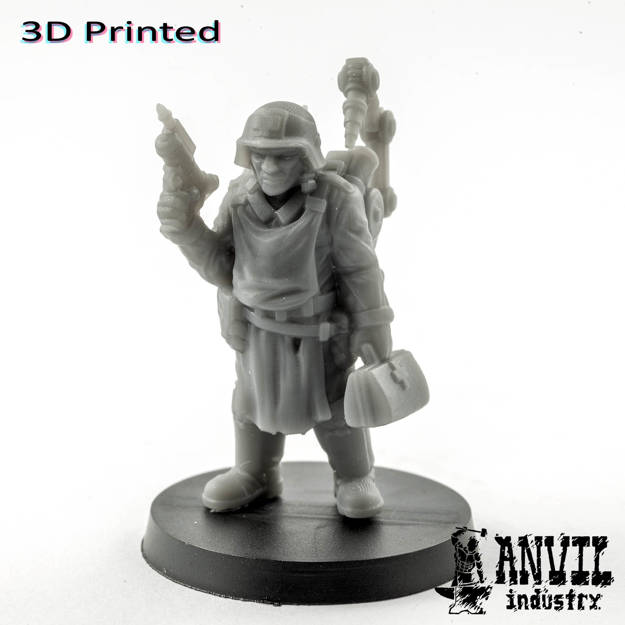 Picture of 3D Print (SLA) - Armoured Trencher Medic