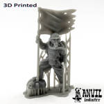 Picture of 3D Print (SLA) - Armoured Trencher Standard Bearer