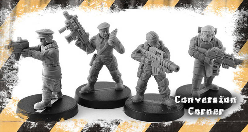 Conversion Corner #19: Regiments with Exo-Lord Weapons