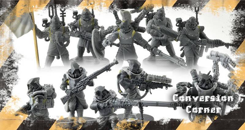 Conversion Corner #18: Regiments Vs Games Workshop Skitarii