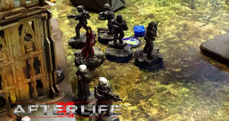 Afterlife: Battle Report - Jungle Abduction