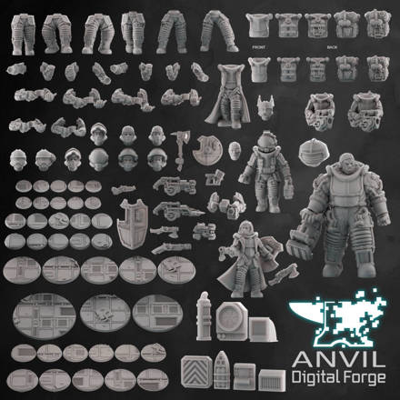 Picture of Digital - Gothic Void Troopers (Full Bundle)
