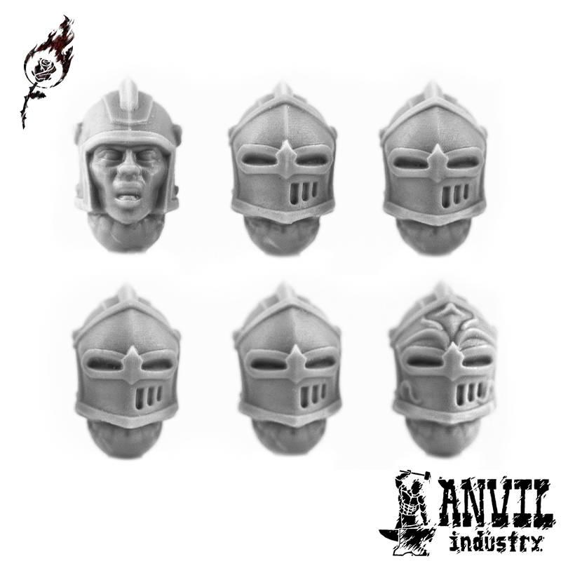 Barbute Helmets