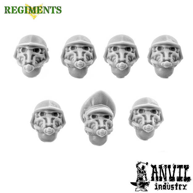 Picture of Iron Corps Helmets with Gasmasks (7)