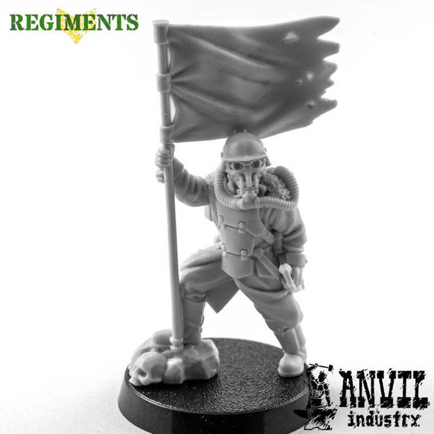 Picture of Iron Corps Standard Bearer