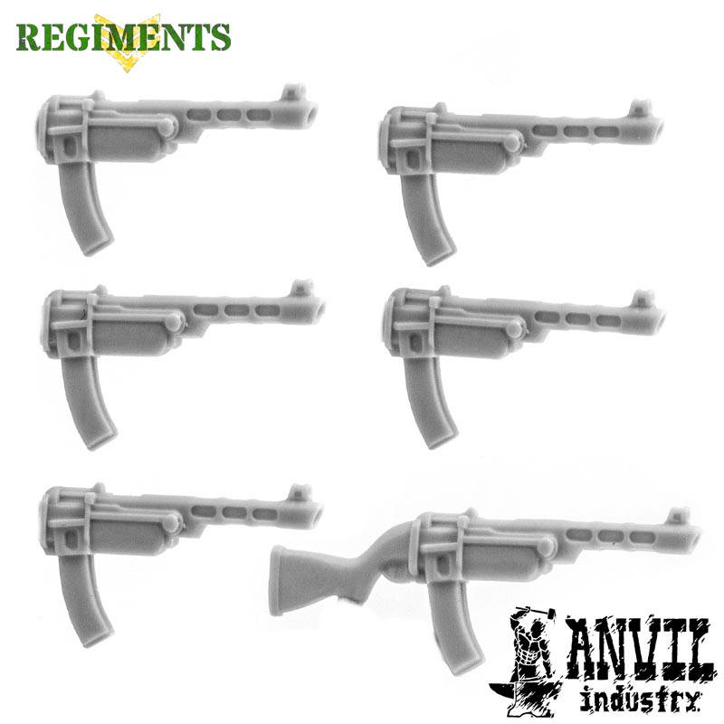 PPSh-41 SMGs