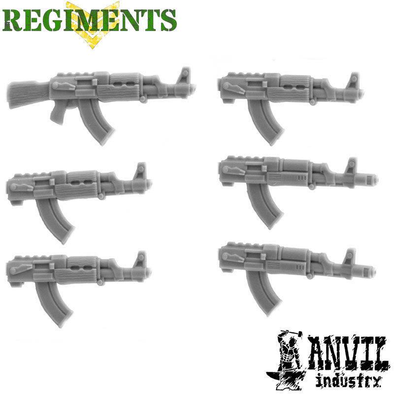 AK-47s