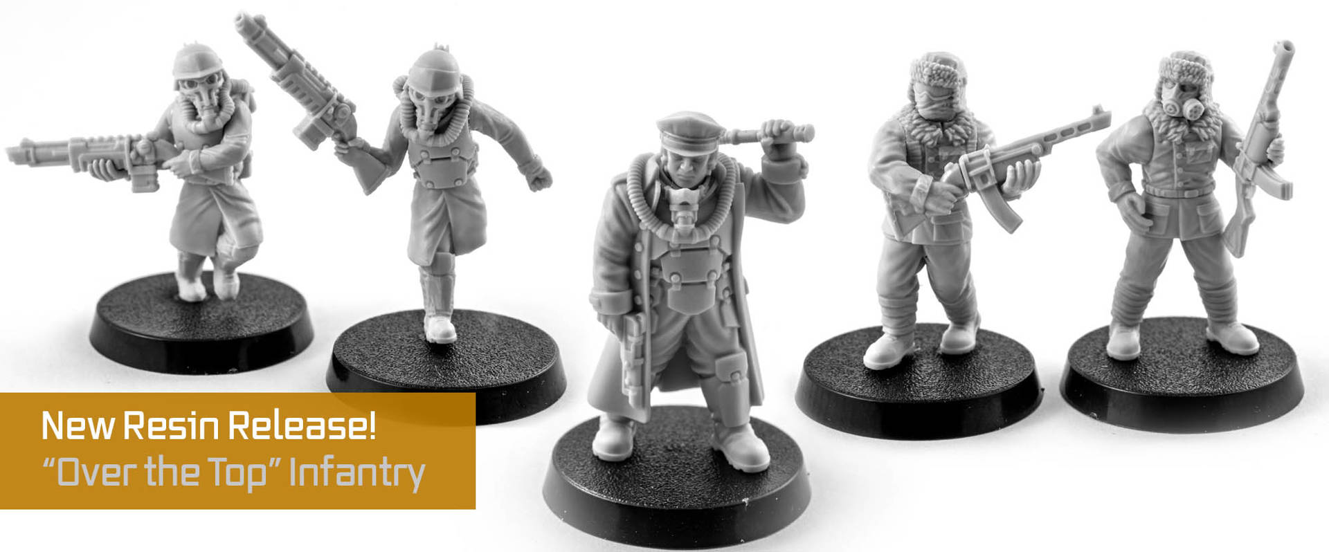 Trench Fighter Wargaming Miniatures