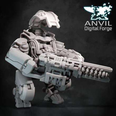 Picture of Digital - OGRE Modular Infantry Support Mechs Pack