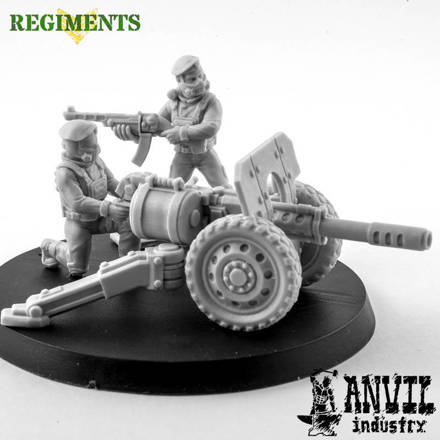 Picture of Female Regiments Custom Heavy Weapons Squad  (6 Figures)