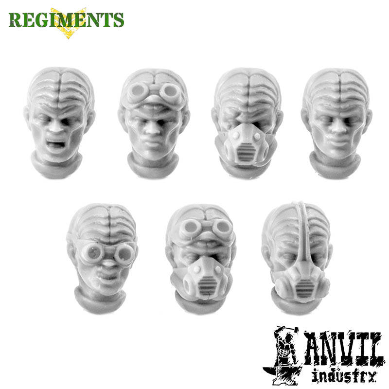 Alien Hybrid Heads (female)
