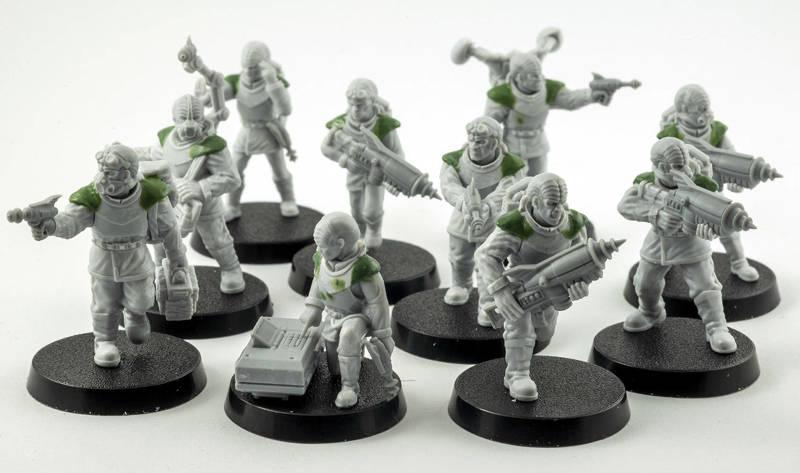Alien Crew for Stargrave